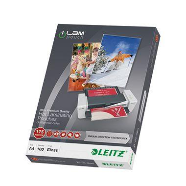 Leitz Laminierfolie  UDT  175mic glasklar 100 St./Pack.