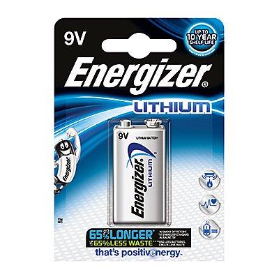 Energizer Batterie Ultimate Lithium L522 9V E-Block