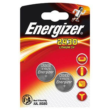 Energizer Spezialzelle Lithium CR 2430 637991 2 St./Pack.