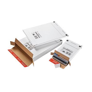ColomPac Faltkarton CP065.56 24,4x34,4x4,5cm sk weiß