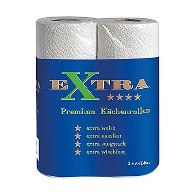 Küchenrolle Extra 2-lagig weiß 2 St./Pack.