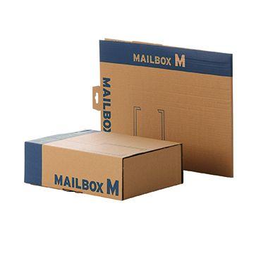 Faltkarton Mailingbox M 336x251x110mm braun