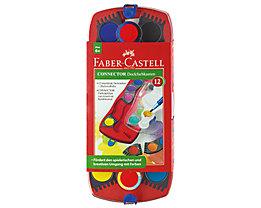 FABER CASTELL Farbkasten Connector 125030 12Farben