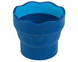 Faber-Castell Pinselwaschbox CLIC&GO 181510 Kunststoff blau