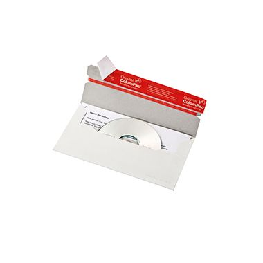 ColomPac CD/DVD-Versandtasche     weiß