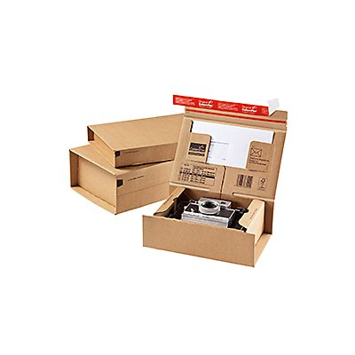 ColomPac Versandkarton POST-BOX CP067.04 30,5x11x21,2cm braun