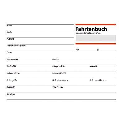 Sigel Fahrtenbuch FA614 DIN A6 für PKW 40Blatt