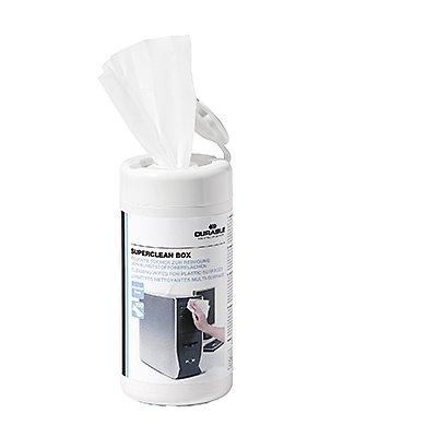 DURABLE Reinigungstuch SUPERCLEAN BOX 570802 100 St./Pack.