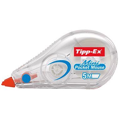 Tipp-Ex Korrekturroller Mini Pocket Mouse 901817 5mmx5m weiß