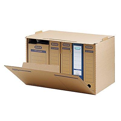 ELBA Archivbox tric   für DIN A4 naturbraun