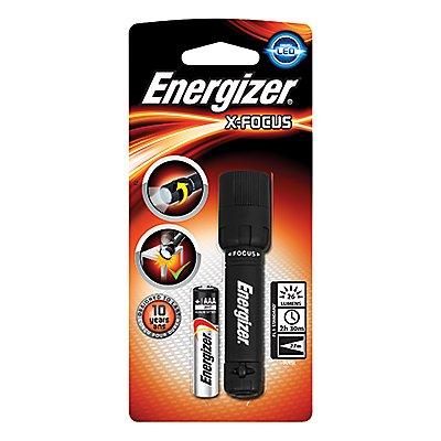 Energizer Taschenlampe X-Focus 634499 LED Kunststoff schwarz