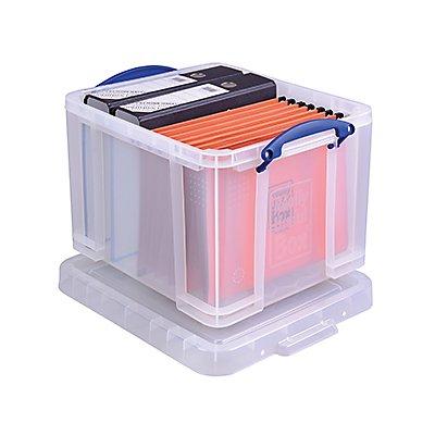 Really Useful Box Aufbewahrungsbox 35BK 39x31x48cm 35l schwarz