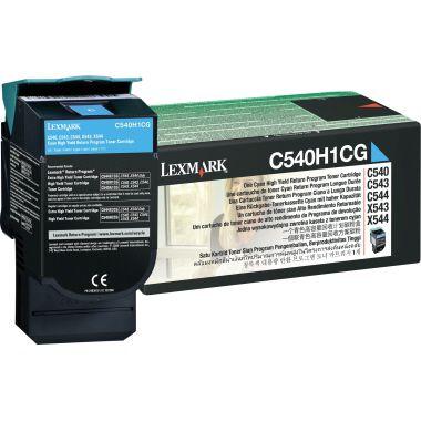 Lexmark Toner C540H1CG 2.000Seiten cyan