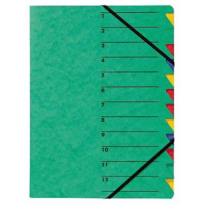 PAGNA Ordnungsmappe EASY DIN A4 12Fächer Pressspan