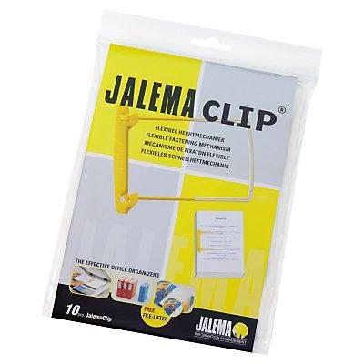 Jalema Abheftbügel  gelb/weiß  St./Pack.