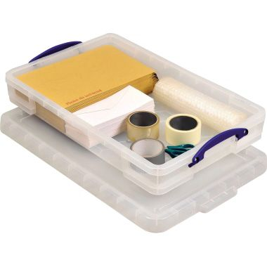 Really Useful Box Aufbewahrungsbox 20C 71x12x44cm 20l transparent
