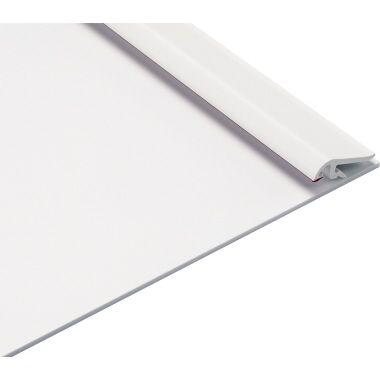 MAUL Klemmbrett 2310202 DIN A4 quer max. 9mm Kunststoff weiß