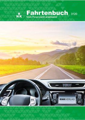 RNK Fahrtenbuch 3120 für PKW DIN A5 32Blatt