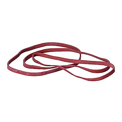 Gummiband 4x150mm rot 50 g/Pack.