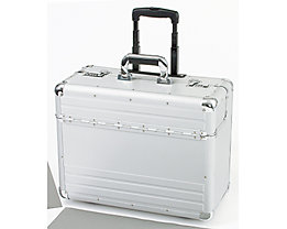 ALUMAXX Pilotenkoffer MEGA 45122 48x37x23cm Aluminium silber