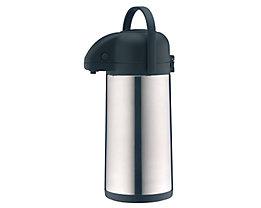 alfi Isolierkanne 837205250 2,5l Edelstahl silber/schwarz