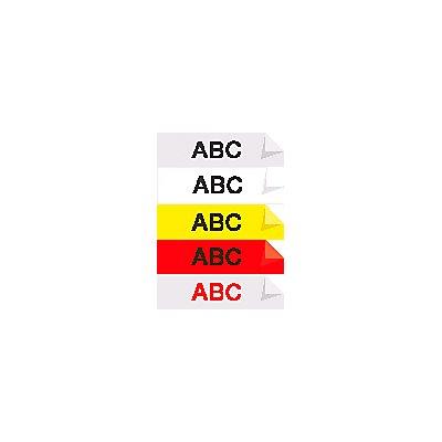 D1-Schriftband - Sortiment, VE 5 Stk