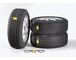 Reifen-Markierungssystem - VE 20 Stück - Reifenfrontschild mit Gummi