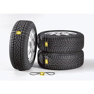 Scholz Reifen-Markierungssystem - VE 20 Stück - Reifenfrontschild mit Gummi