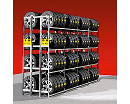 Reifenregal, verzinkt - doppelseitig