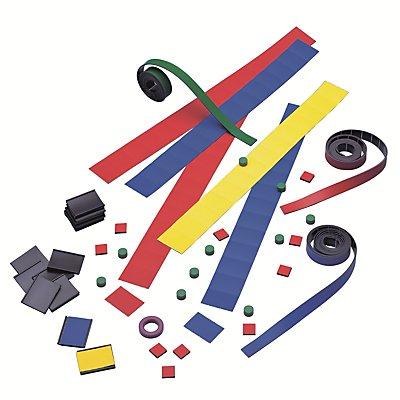 magnetoplan® Zubehörset 2 - für Jahresplaner MANAGER - Magnetband, U-Etikettenträger, Etiketten, Magnete