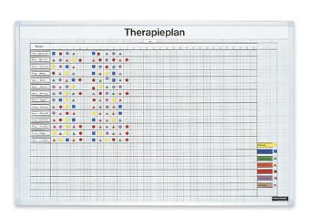 magnetoplan® Therapieplan - Raster 22 x 22 mm, einseitig