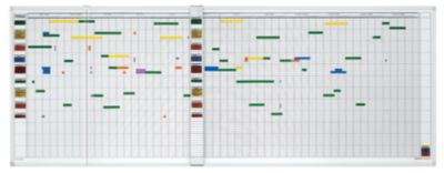 magnetoplan® Jahresplaner-Set - 7-Tage-Woche