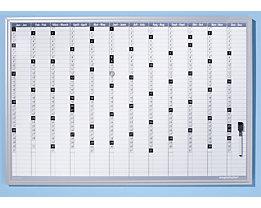 magnetoplan® Kit de planning annuel - avec accessoires de montage