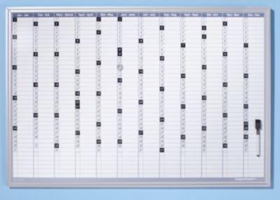 ® Jahresplaner-Set - inkl. Montagematerial - BxH 920 x 625