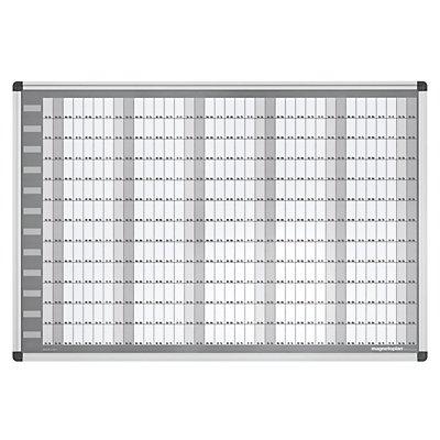 magnetoplan® Kit de planning annuel MANAGER - permanent, type CC - l x h 920 x 625 mm