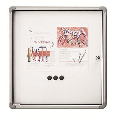 magnetoplan® Vitrine d'affichage SP - blanc