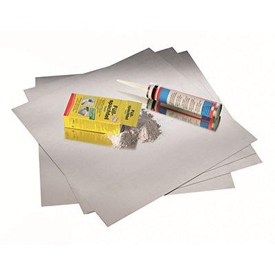 magnetoplan® Kit magnetowand® - SOUS LE PAPIER PEINT - 20 plaques