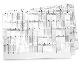 magnetoplan® Jeu de bandes de calendrier - pour planning à fiches - pour 4 ans