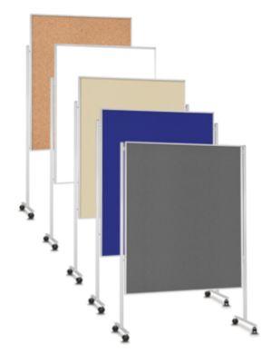 magnetoplan® Moderationswand, mobil - doppelseitig
