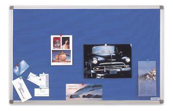magnetoplan® Stoffpinnwand - Typ SP, blau