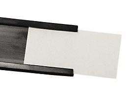 magnetoplan® Etikett / Folie - für C-Profil - für Breite 10 mm