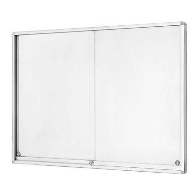 magnetoplan® Vitrine d'affichage - à portes coulissantes