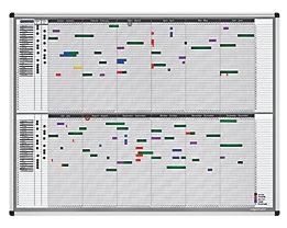 magnetoplan® Kit de planning personnel et de projets - pour 35 employés ou projets