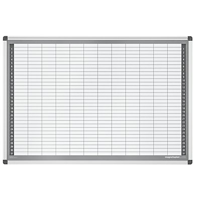 magnetoplan® Monatsplaner-Set - Typ CC - BxH 920 x 625 mm