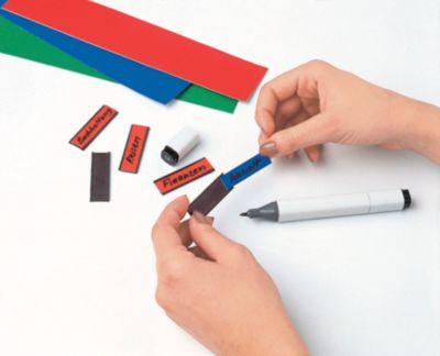 magnetoplan® magnetoflex® U-Profil - HxB 15 x 60 mm, 3 VE à 10 Stk - schwarz
