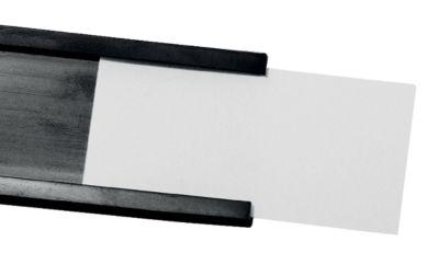 magnetoplan® Fenstermagnet - HxB 15 x 60 mm, 2 VE à 10 Stk - schwarz