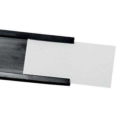 magnetoplan® Fenstermagnet - HxB 15 x 40 mm, 2 VE à 10 Stk - schwarz