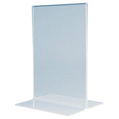 magnetoplan® Tischaufsteller - gerade, Acryl
