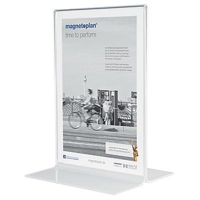 magnetoplan® Présentoir de table - droit, en acrylique