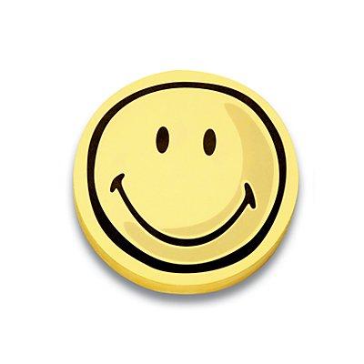 magnetoplan® Fiches cartonnées - smiley positif, 5 lots de 100 pièces - Ø 100 mm